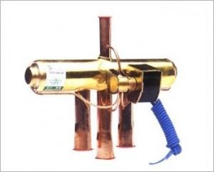 Клапан 4-х ходовой  с соленоидом DHF/SHF